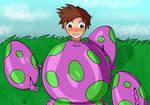 Happy Birthday, Yoshiegg! (commission)