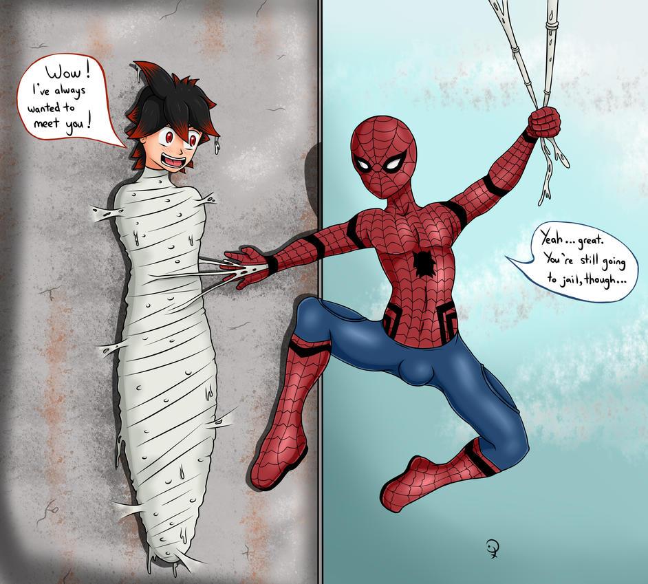 Spiderman's Fan by KurtType5