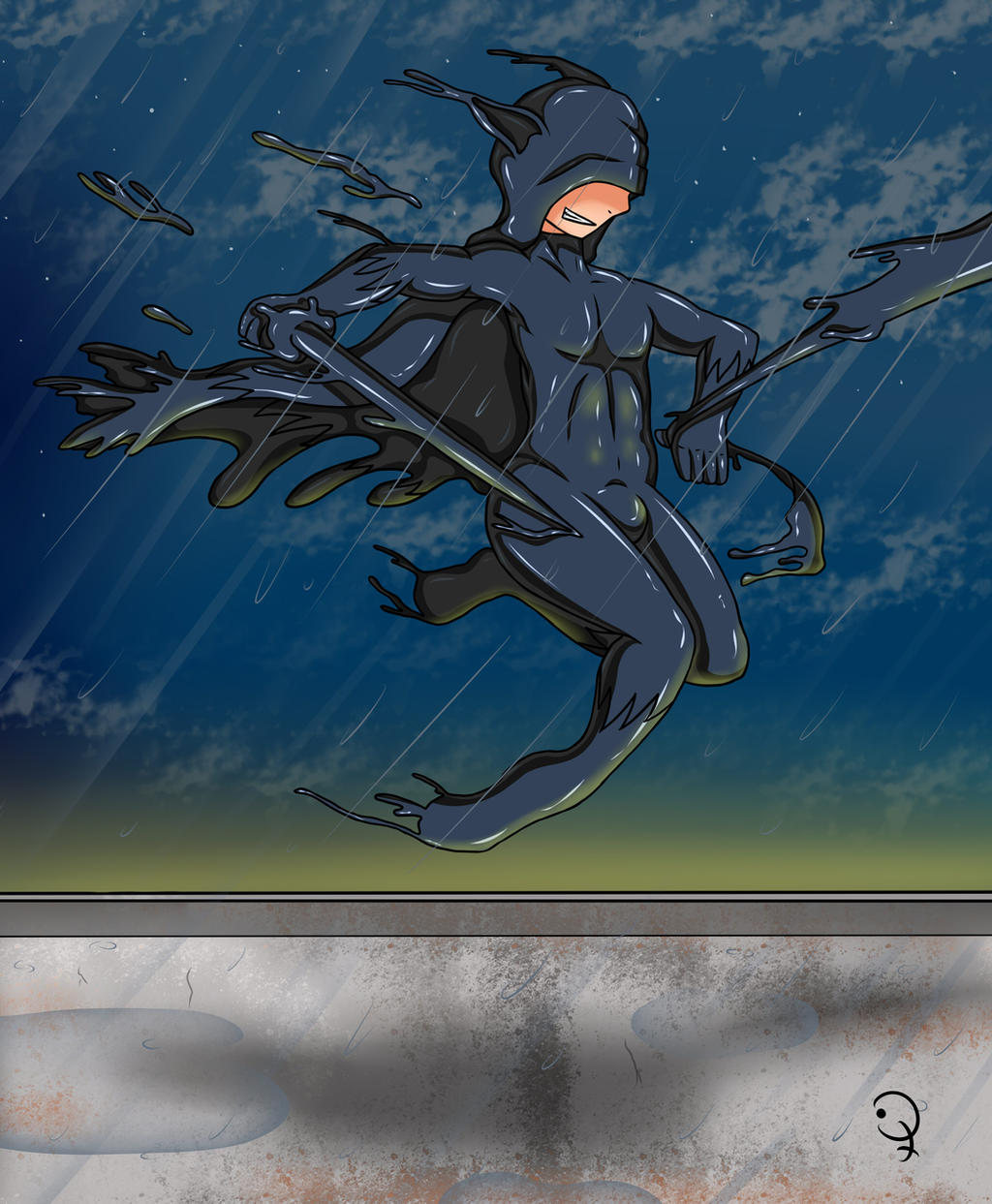 Black Suit Fox by KurtType5