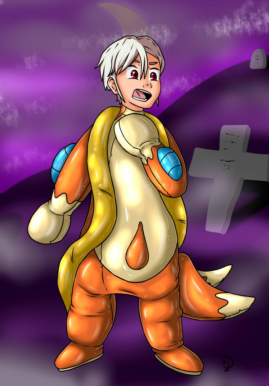Halloween Pokesuits 3 - Floatzel by KurtType5