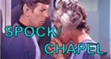 Spock/Chapel Stamp by flavoredcatlollypop