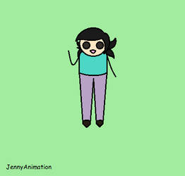 JennyAnimation by flavoredcatlollypop