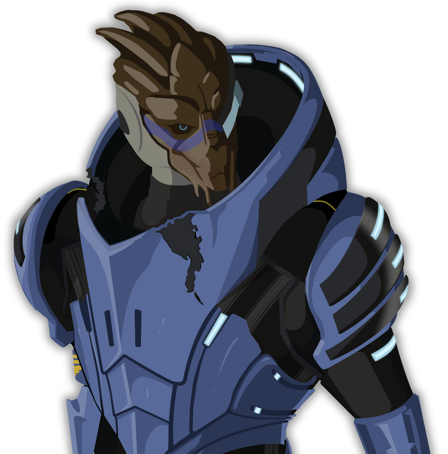 Mass Effect 2 Garrus Vector by Akael