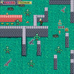 Shoot-em-up Mockup Zombie game