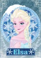 Elsa - Frozen by KrolMarinho