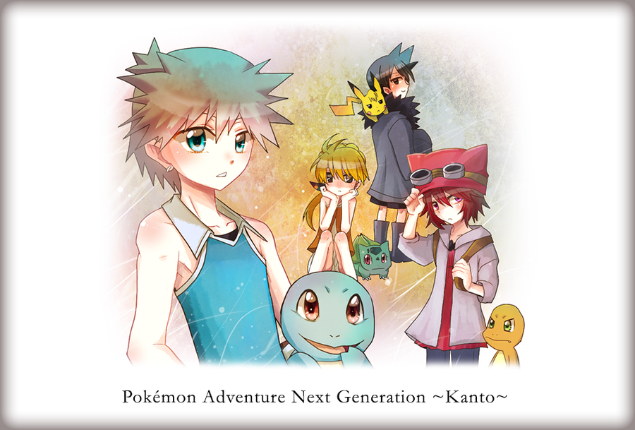 Pokemon Adventure Next Generation by jellyfishkingd on