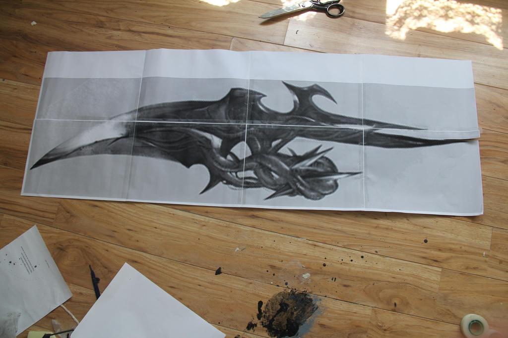 Prototype (Alex mercer) Blade Arm 1 by MEG-Cosplay on ...