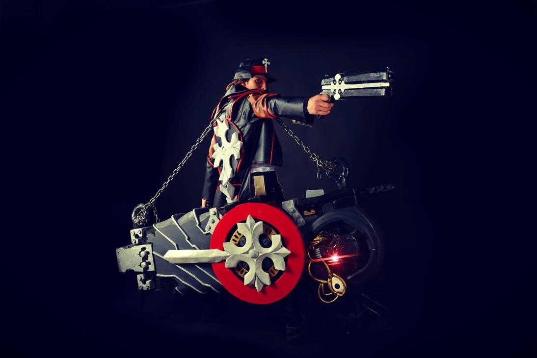 Gungrave [Brandon Heat] Cosplay by MEG-Cosplay