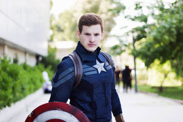 Captain America Cosplay (Winter soldier)