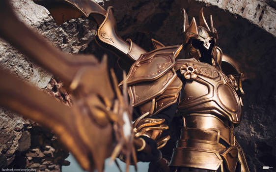 Diablo 3 Imperius Archangel of Valor Cosplay