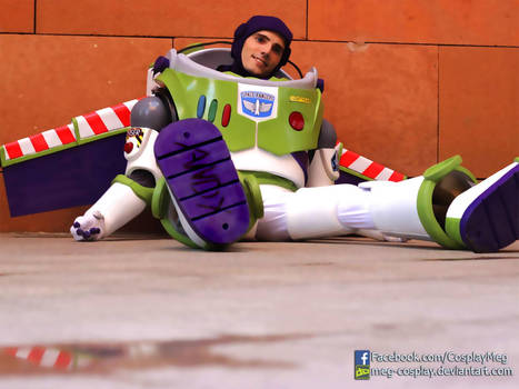 My Buzz Lightyear Cosplay