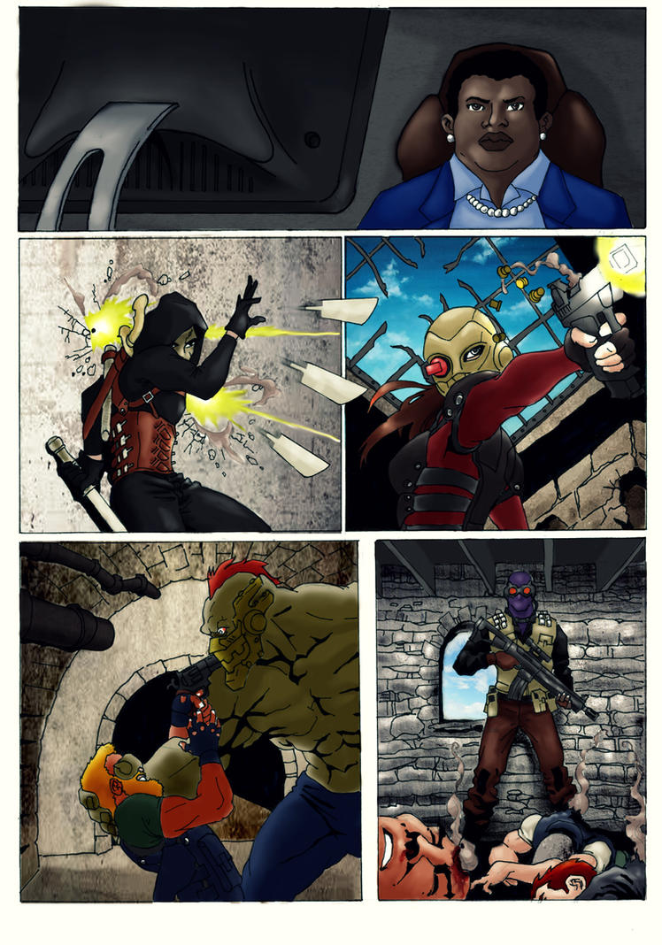 Suicide Squad Page - in progress by Adi-Herawan