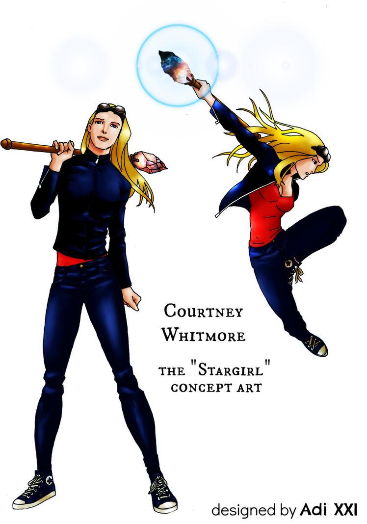 The Stargirl Artwork by Adi-Herawan