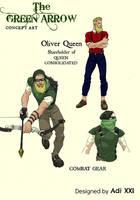 The Green Arrow artwork by Adi-Herawan