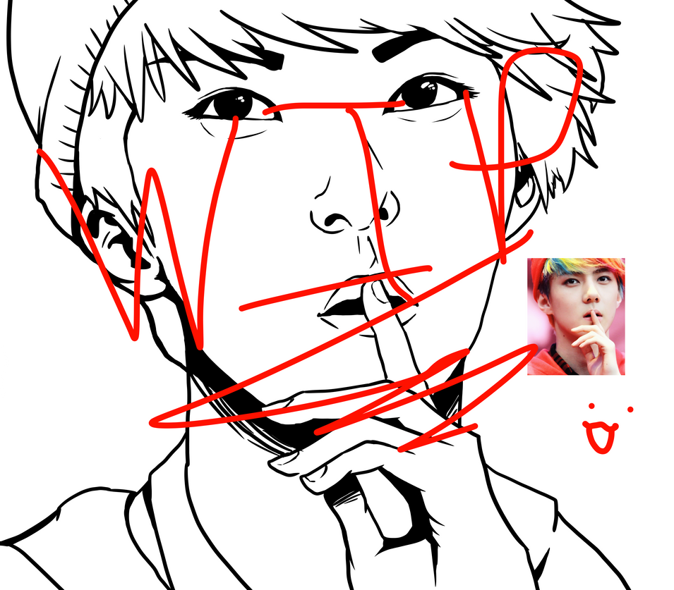 Oh Sehun WIP by Box-of-YEHET