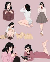 Juliet Sketches
