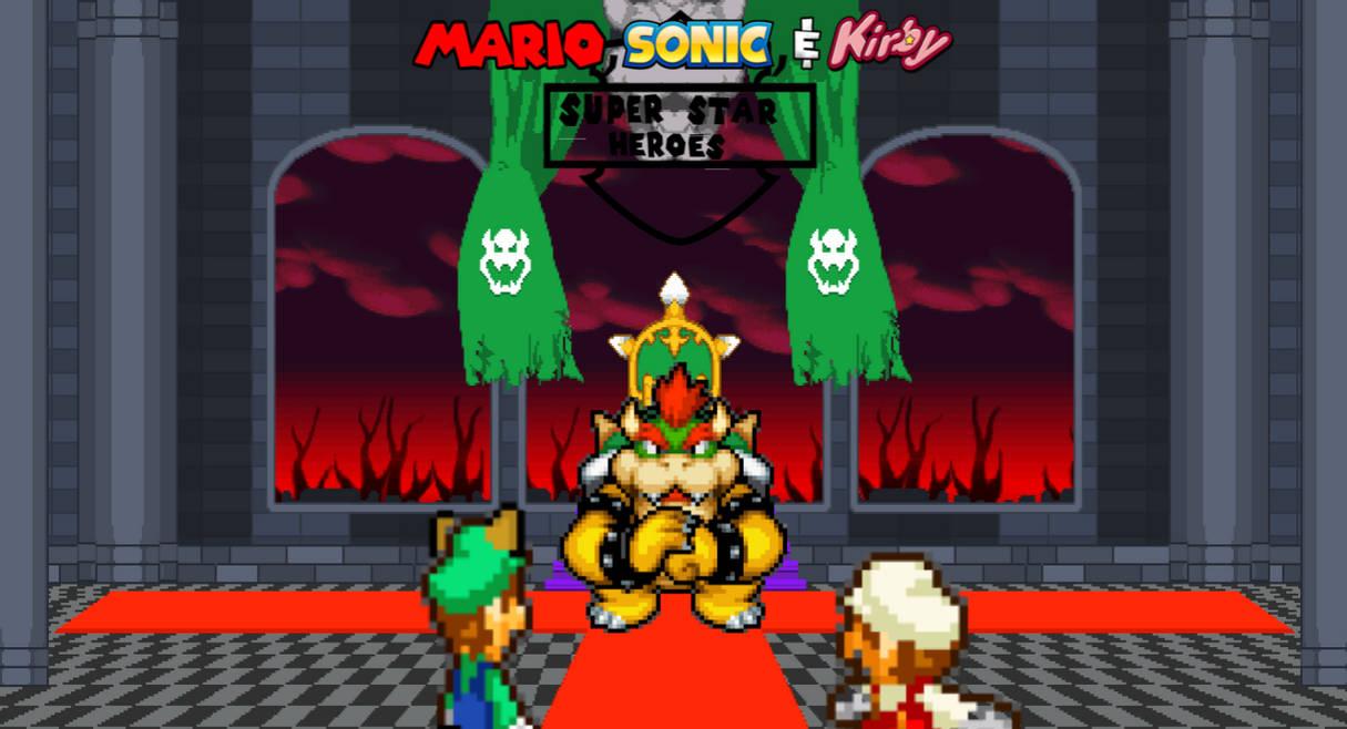 Mario and Luigi vs Bowser by riverana on DeviantArt