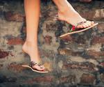 Relaxing in flip flops