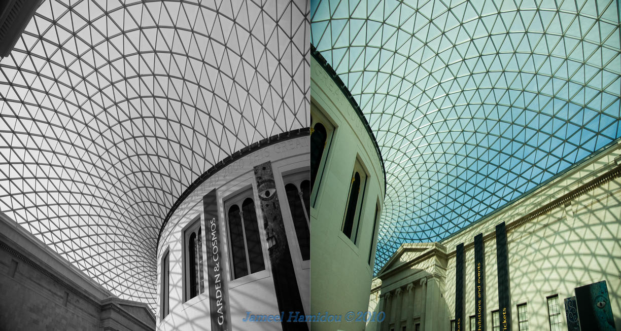 British museum skylight dome by ajhamidou on deviantart for Skylight net login