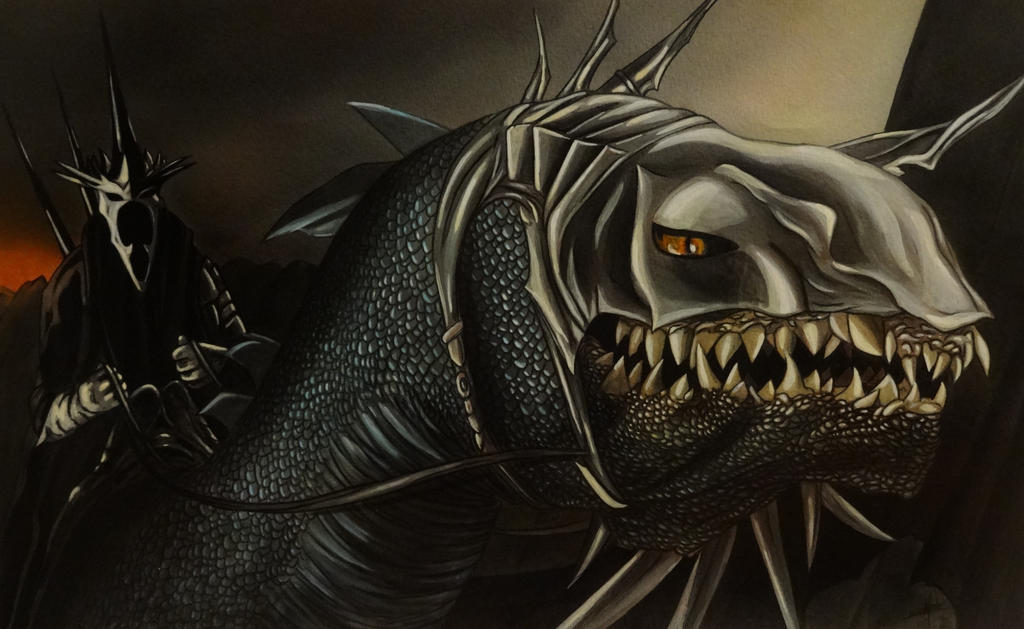 Lord Of The Rings Nazgul Dragon