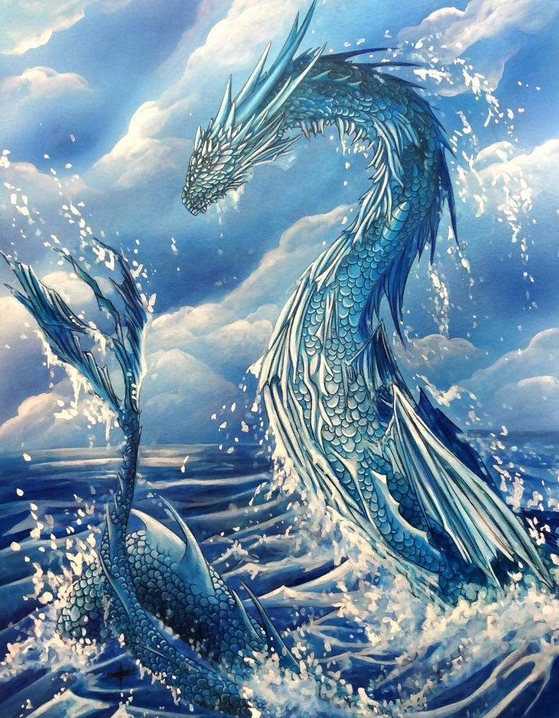 Sea Dragon by krisbuzy on DeviantArt