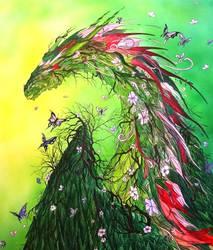 Spring Dragon by krisbuzy