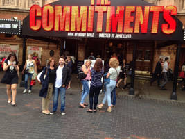Me and mom at  The Commitments