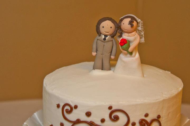 Artist Wedding Cake Toppers : Wedding cake toppers by xXJackSkellingtonXx on DeviantArt