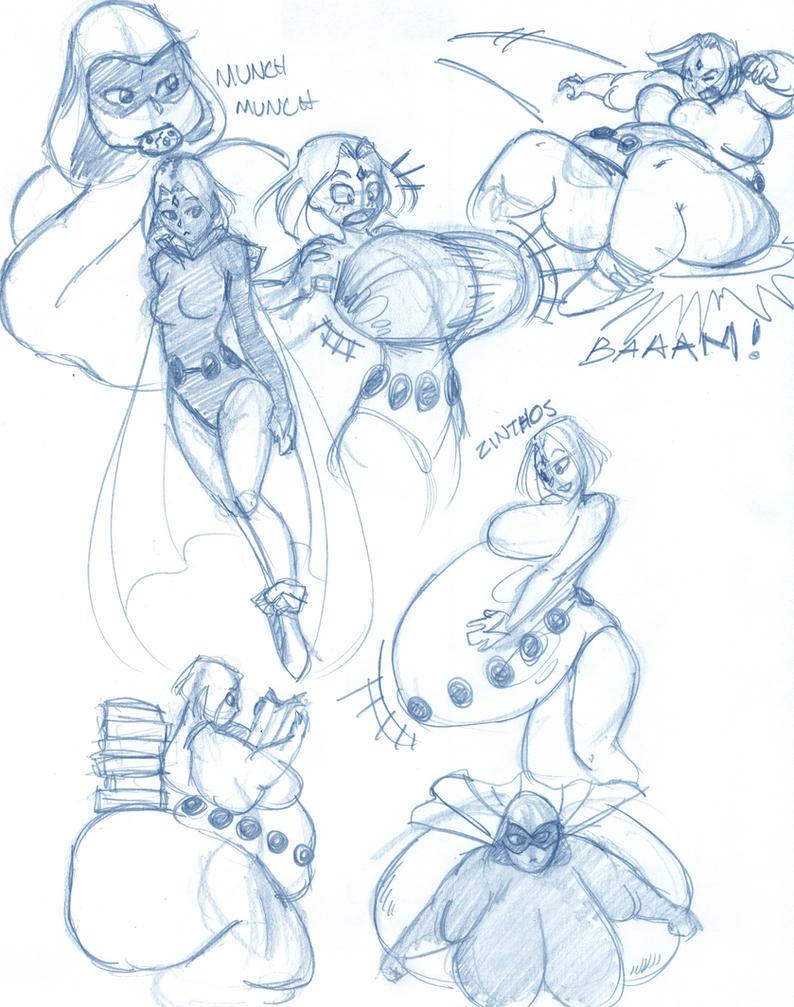 raven doodle by Blimpy4000