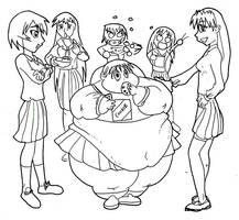 fat Chiyo by Blimpy4000