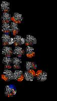 Silver Sonic battle sprites v1