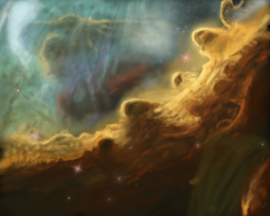 Omega nebula by NikolaDun
