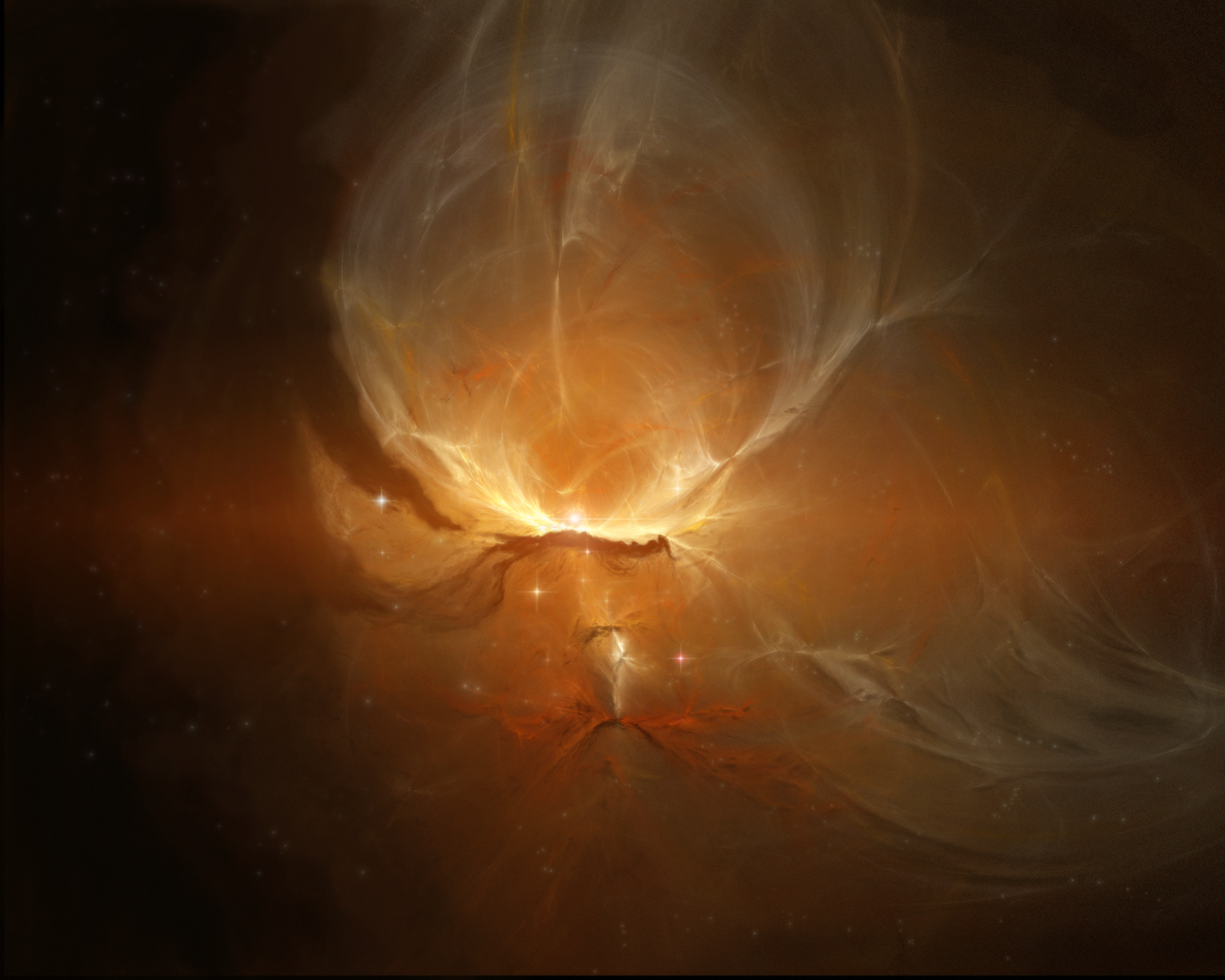 Voyager Nebula by NikolaDun