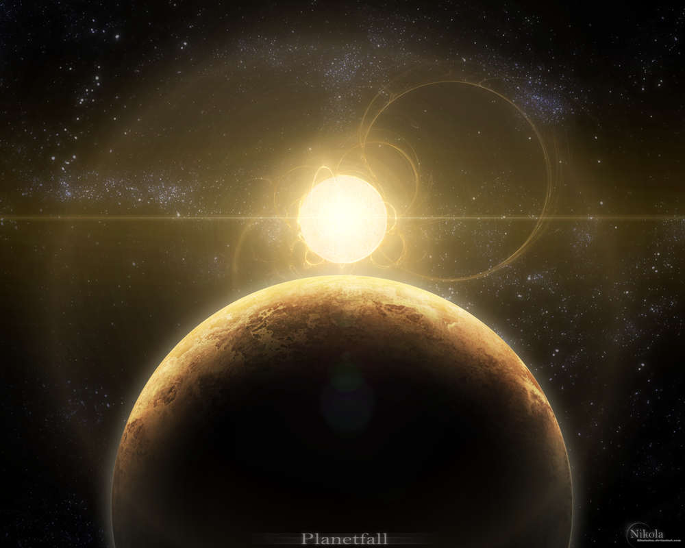 Planetfall by NikolaDun