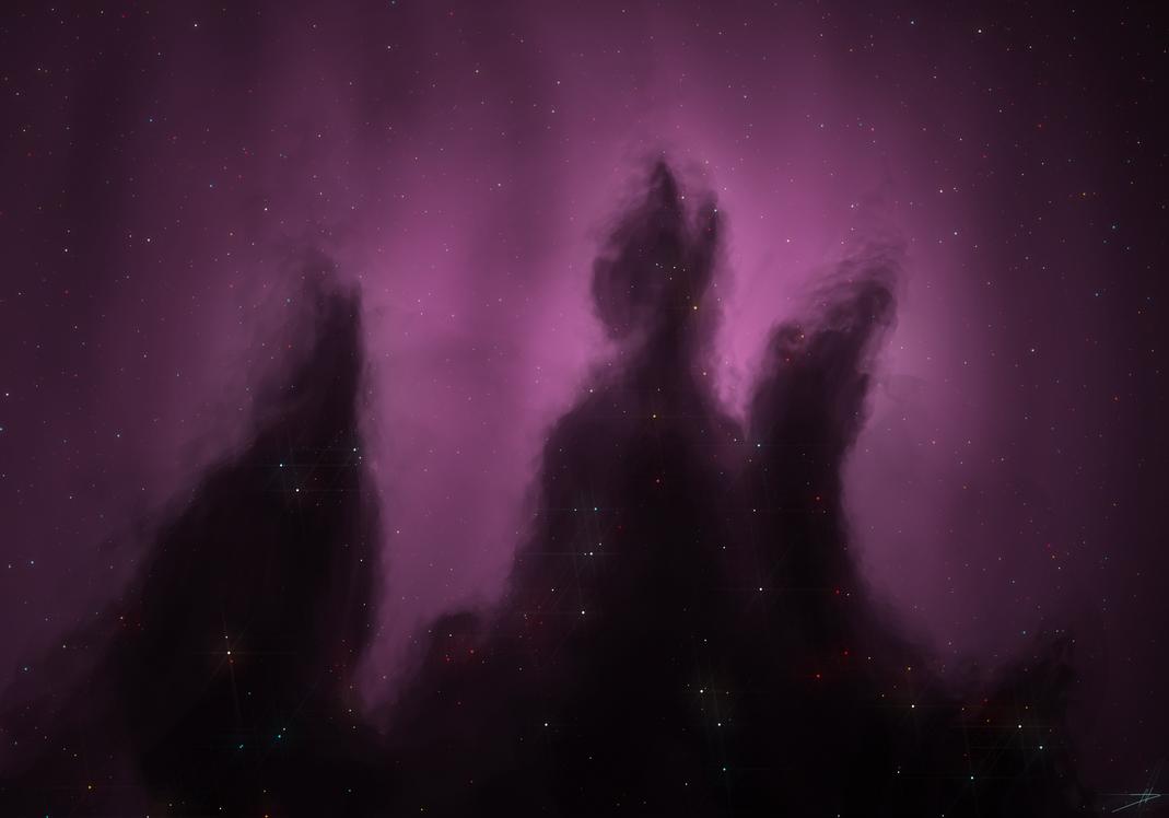 Haze Nebula by NikolaDun