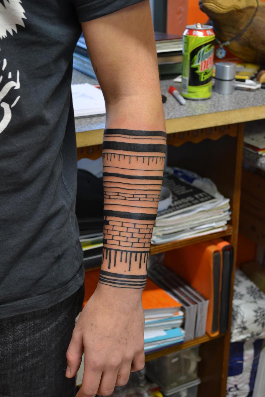 forearm sleeve by digitalstencil on deviantart