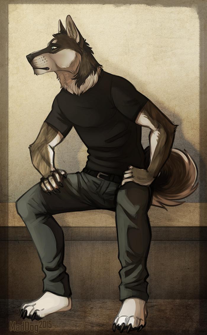 Nameless dogman by MadDogVII