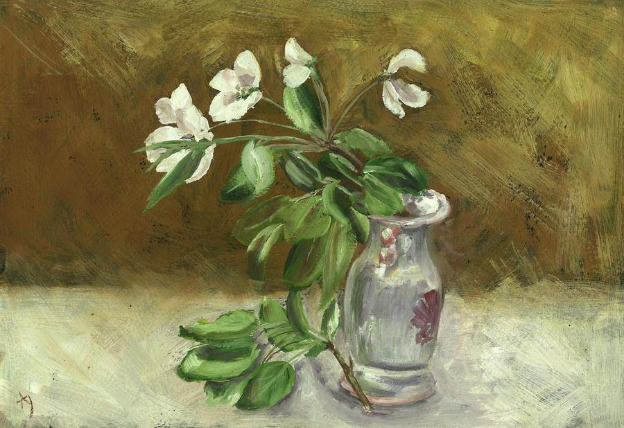 Wild Apple Tree Blossom by h-i-l-e-x