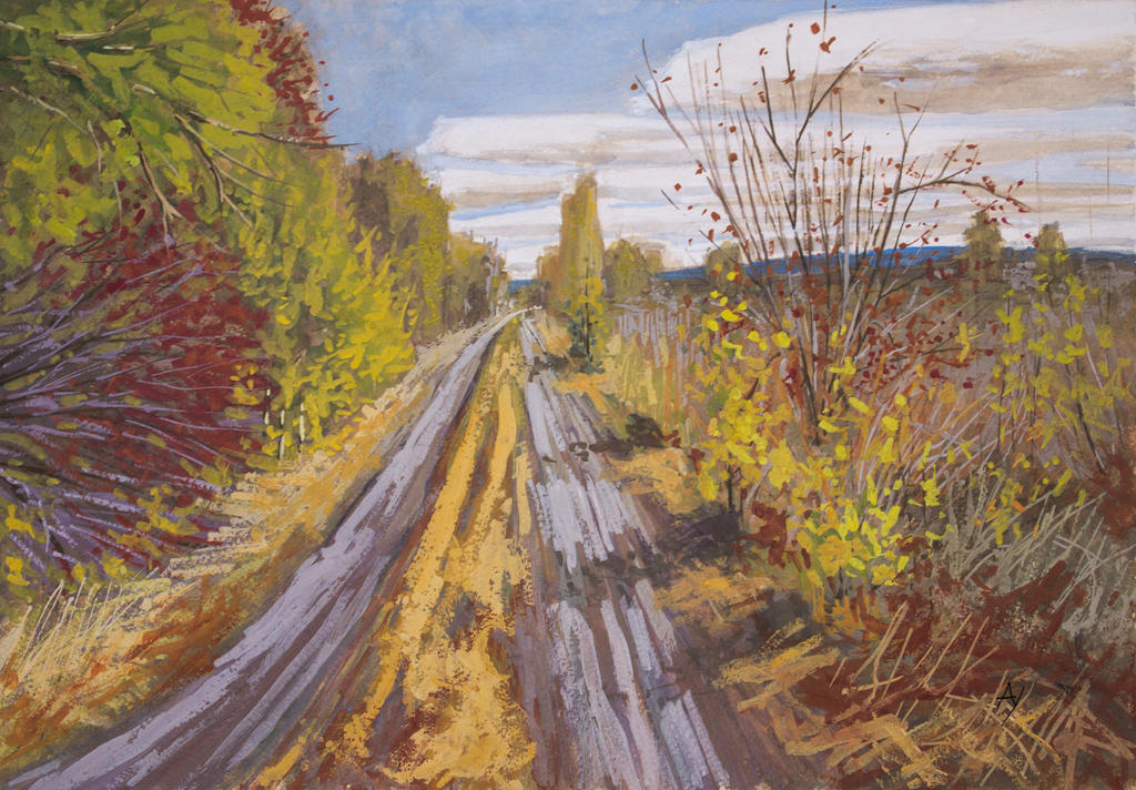 Unpretentious autumn by h-i-l-e-x