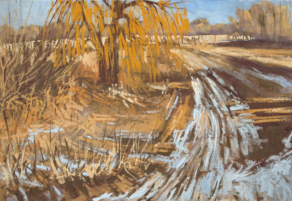 Cold road by h-i-l-e-x