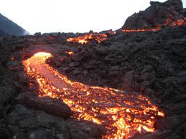 Lava flow by Karlbert