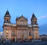 Atardecer en Ciudad de Guatema