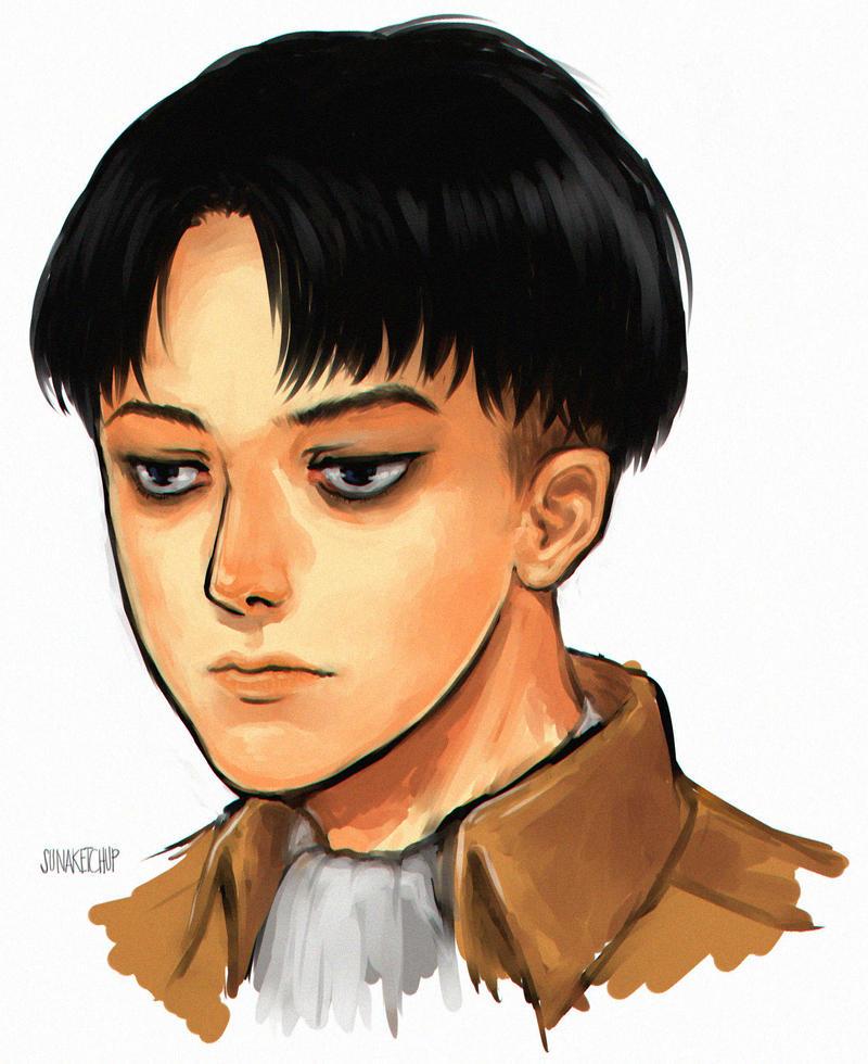 levi portrait by sunako21