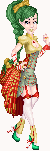 Christmas Elf Redoll by Breebles