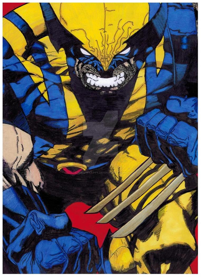 Wolverine by Miku-Nyappy