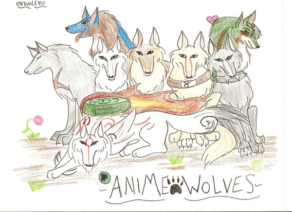 anime wolves. Anime Wolves by ~oXWoLfXo on