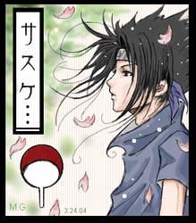 Sasuke - Spring - by ProdigyBombay