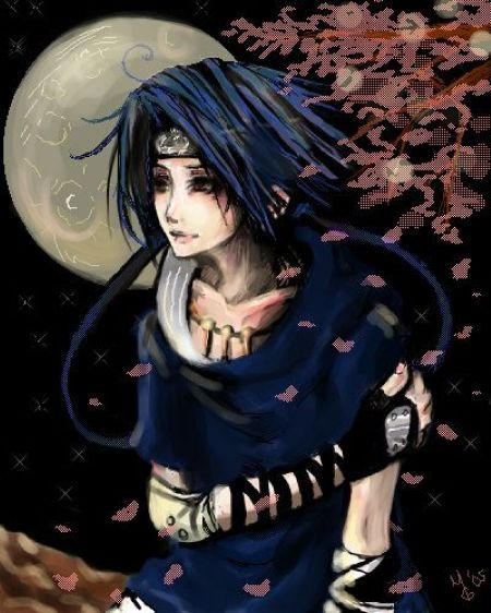 Moonlight Sonata - Sasuke by ProdigyBombay