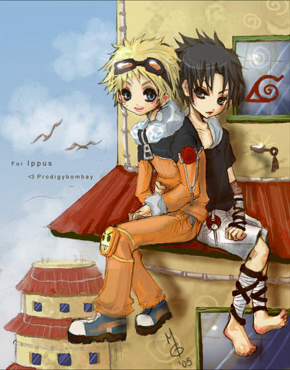 SasuNaru - For Ippus by ProdigyBombay