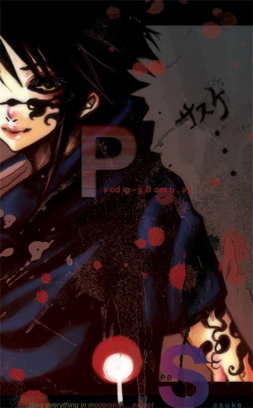 Sasuke is LOVE by ProdigyBombay